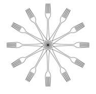 Ronnies Menu image forks